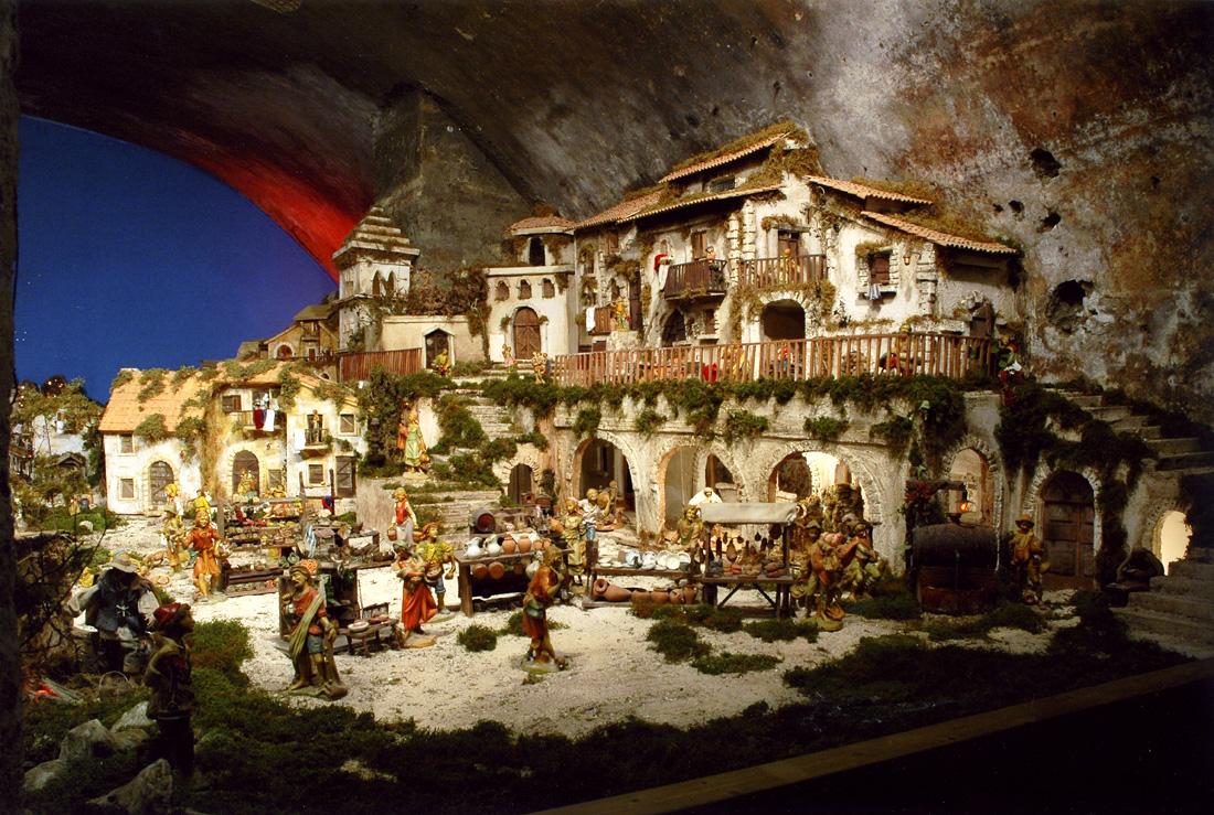 Rende centro storico for Luci presepe