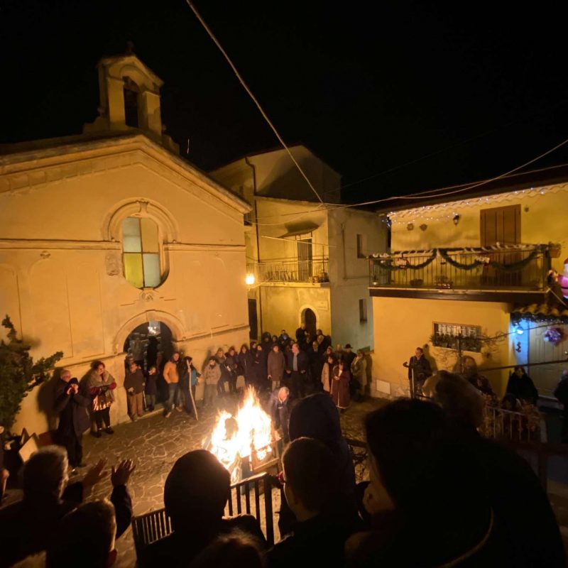 Falò di Sant'Antonio Abate Rende Centro StoricoIMG_0403_50p
