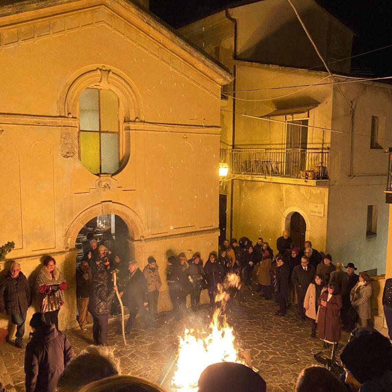 Falò di Sant'Antonio Abate Rende Centro StoricoIMG_0398_50p