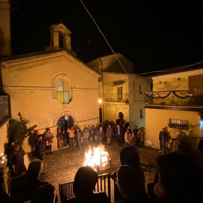 Falò di Sant'Antonio Abate Rende Centro StoricoIMG_0402_50p
