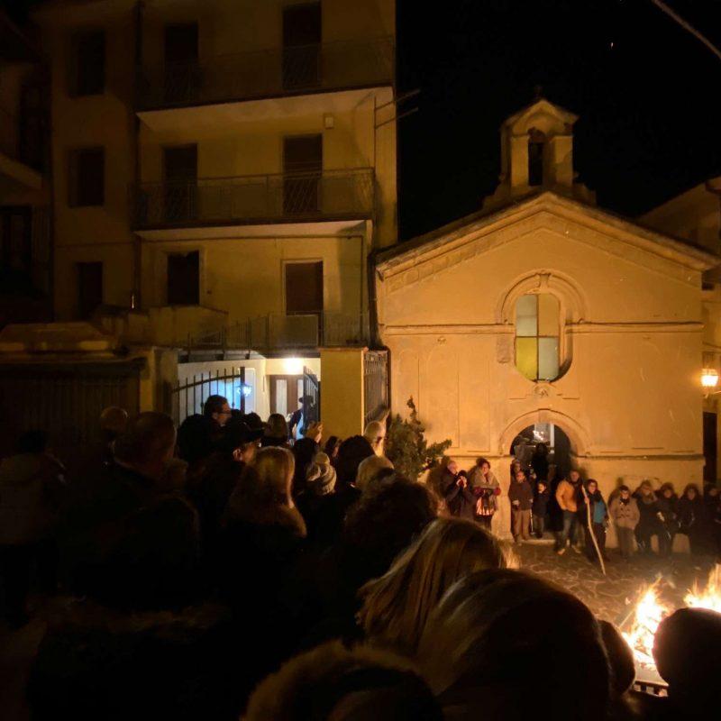 Falò di Sant'Antonio Abate Rende Centro StoricoIMG_0404_50p