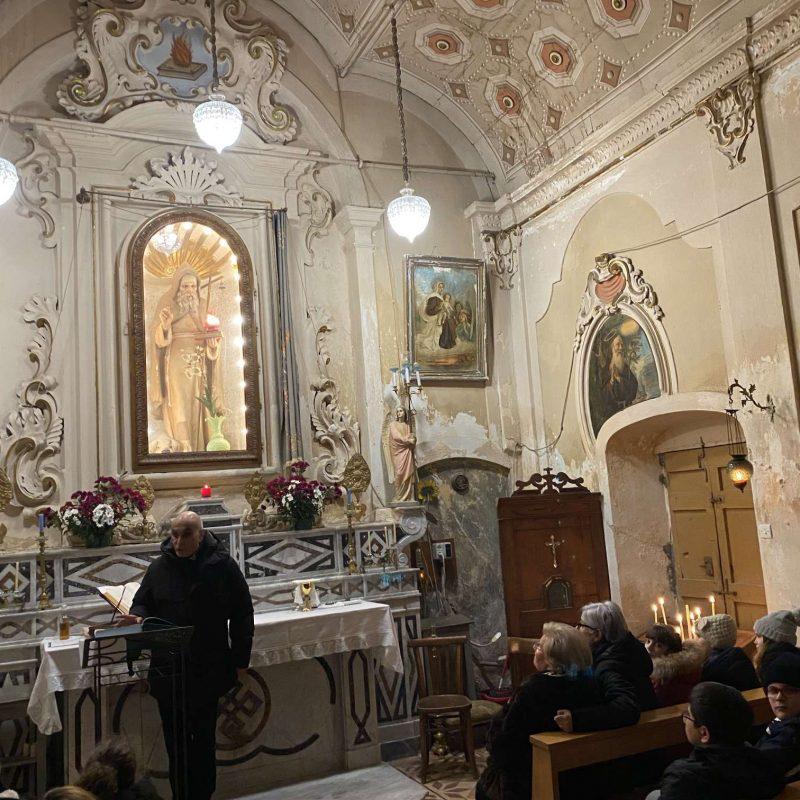 Falò di Sant'Antonio Abate Rende Centro StoricoIMG_0419_50p